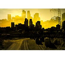 Minneapolis la Mantequilla Photographic Print