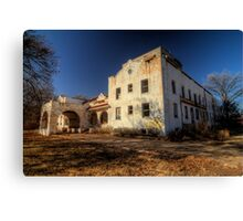 The Defunct Stamford Hospital Canvas Print