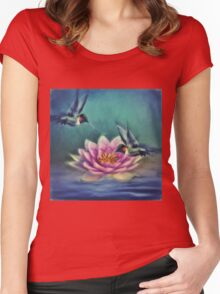 Lotus Flower 2 Women's Fitted Scoop T-Shirt