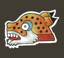 Mayan Jaguar Symbol by RiverbyNight