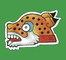 Mayan Jaguar Symbol Kids Tee