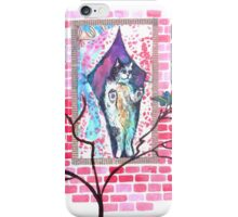 Cat and Canary iPhone Case/Skin