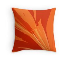 Layers of Orange Throw Pillow