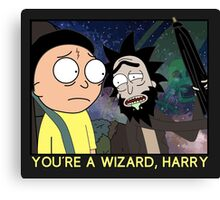 You're a Wizard, Harry Canvas Print