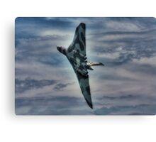 Vulcan at Beachy Head Canvas Print