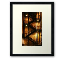 Backstairs Framed Print