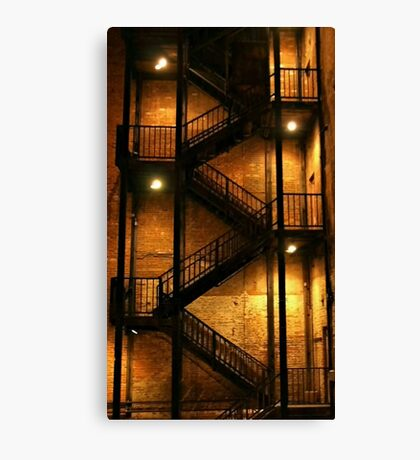 Backstairs Canvas Print
