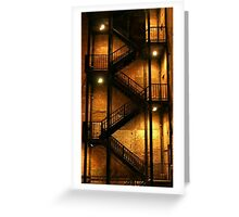 Backstairs Greeting Card