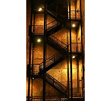 Backstairs Photographic Print