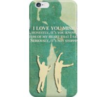 I love you Misha iPhone Case/Skin