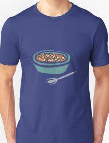 Alphabet Soup Unisex T-Shirt