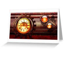 Burning Time  Greeting Card