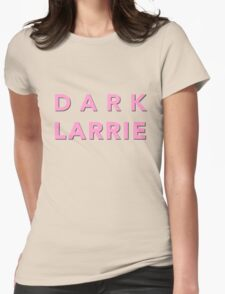 dark larrie Womens Fitted T-Shirt