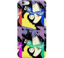 Love Vigilantes Reversed | Colors iPhone Case/Skin