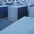 Isolation- Holocaust memorial Berlin by mypic