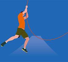 Rope man by seehaikuhere