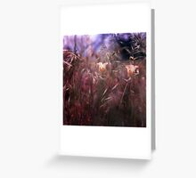 The appearance of unknown selves Greeting Card