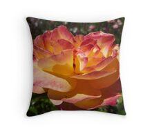 Rose -Adolph Horstman -Nov. Spring Throw Pillow
