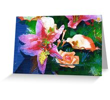 Flower collection Greeting Card