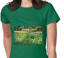 Tulips and Crown Imperials - Keukenhof Gardens Womens Fitted T-Shirt