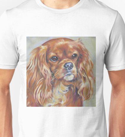 Cavalier King Charles Spaniel Fine Art Painting Unisex T-Shirt