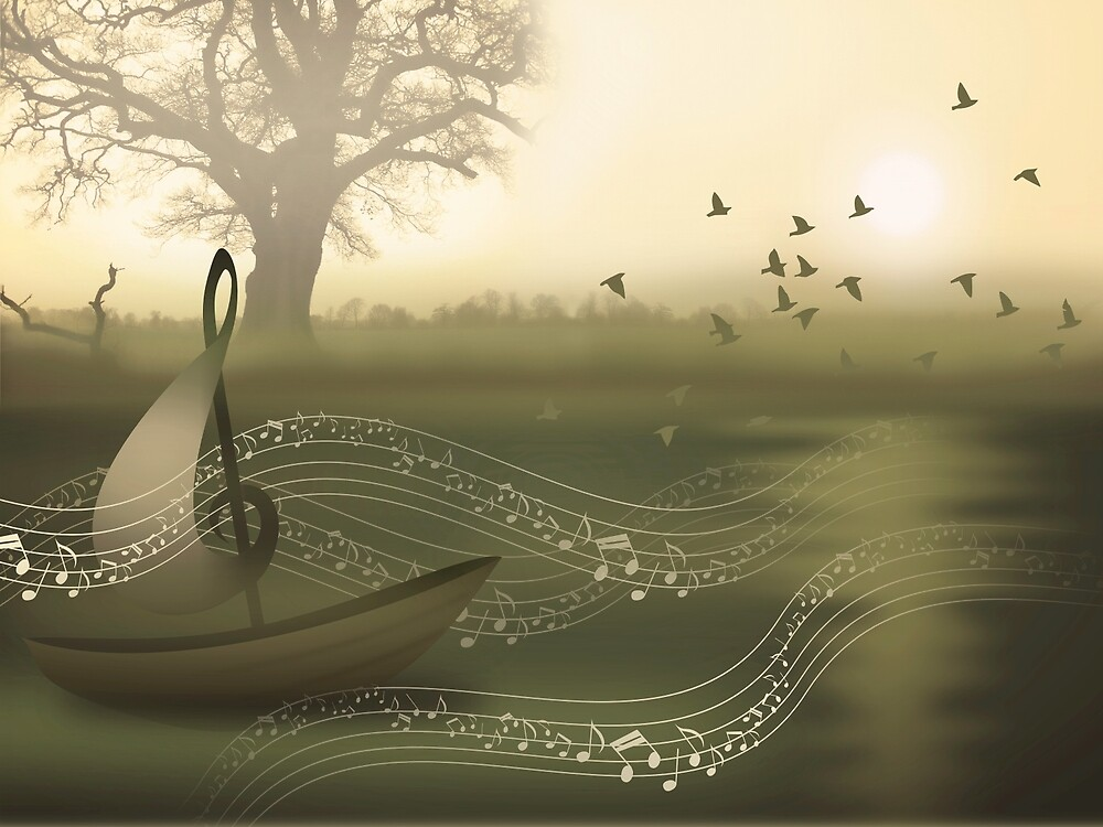 * river of music * by franzi