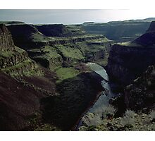 Palouse Canyon in Early Spring Photographic Print