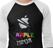 Apple Ninja Men's Baseball ¾ T-Shirt