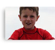 An Australian Kid Canvas Print