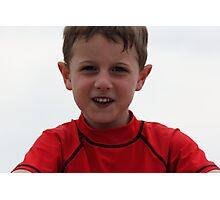 An Australian Kid Photographic Print