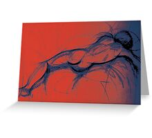 Lee Lee Ingram's 'Sleeping Man' Greeting Card