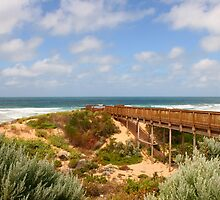 View to Waitpinga Beach, S.A. by Gail Mew