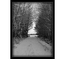 its only a winters tale Photographic Print
