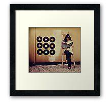 Records Framed Print