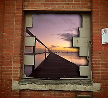 Urban seascape by Andrew (ark photograhy art)