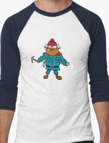 Rudolph the Red-Nosed Reindeer Yukon Cornelius Men's Baseball ¾ T-Shirt