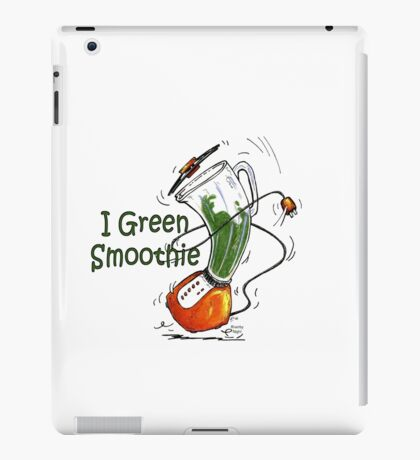 I Green Smoothie iPad Case/Skin