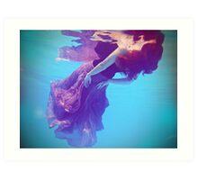 Be water Art Print