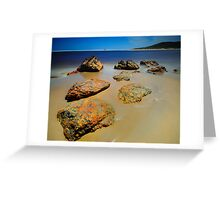 Arthur River Rocks Greeting Card