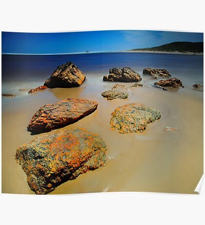 Arthur River Rocks Poster