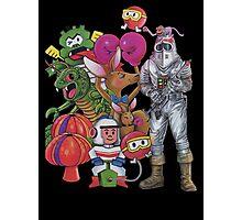 Classic Retro Atari Characters T-Shirt Photographic Print