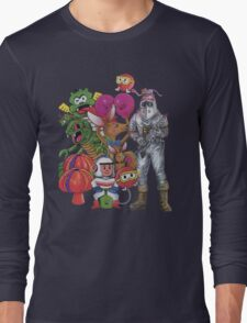Classic Retro Atari Characters T-Shirt Long Sleeve T-Shirt