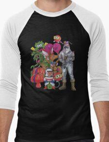Classic Retro Atari Characters T-Shirt Men's Baseball ¾ T-Shirt