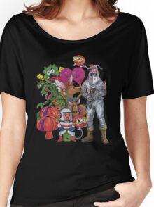Classic Retro Atari Characters T-Shirt Women's Relaxed Fit T-Shirt