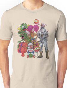 Classic Retro Atari Characters T-Shirt Unisex T-Shirt