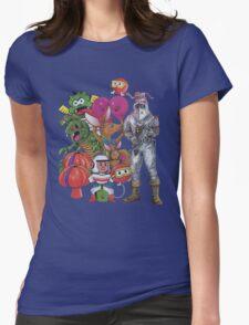 Classic Retro Atari Characters T-Shirt Womens Fitted T-Shirt