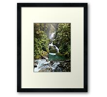 Favourite Waterfall Framed Print