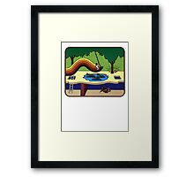 Atari Activision Pitfall Harry Framed Print