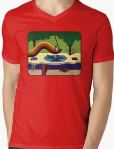 Atari Activision Pitfall Harry Mens V-Neck T-Shirt