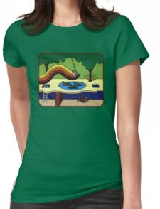 Atari Activision Pitfall Harry Womens Fitted T-Shirt